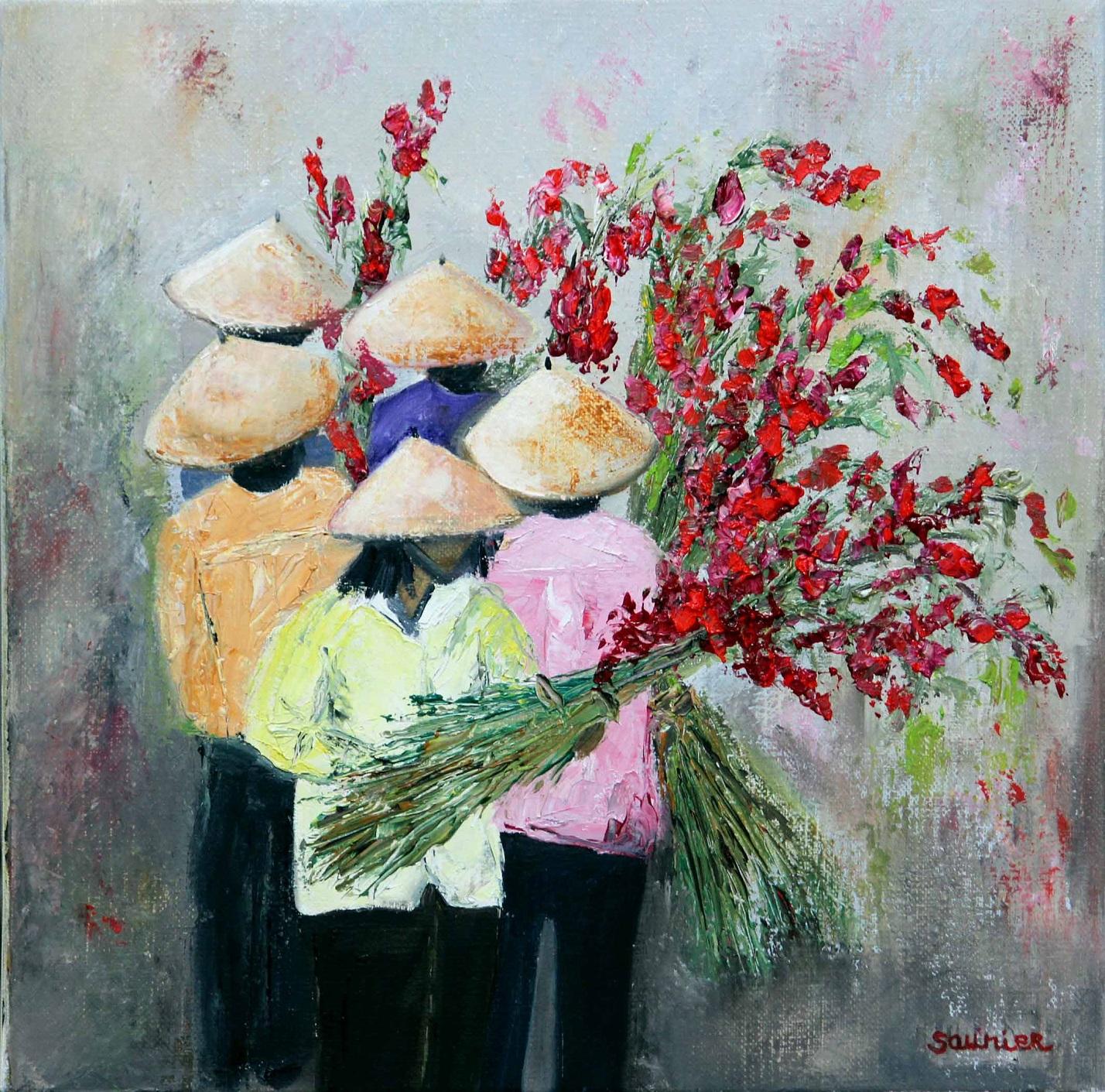 Exceptionnel Monik Saunier | Artiste peintre » Asie VW88